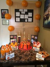 basketball party table decorations 23 best basketball parties images on pinterest basketball party