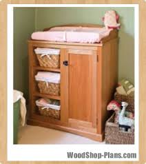 Wood Changing Table Baby Changing Table Woodworking Plans Woodshop Plans
