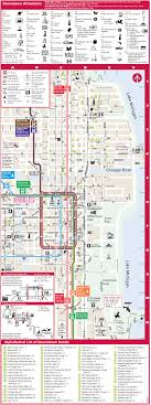 chicago map with attractions chicago tourist map mapsof net
