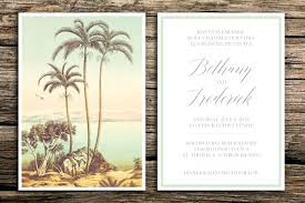 palm tree wedding invitations new palm tree wedding invitations for palm tree wedding