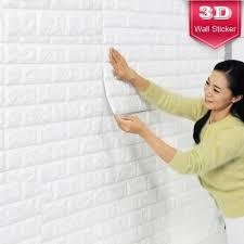 korean design easy install sticky wallpaper interior foam block