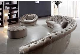 Rounded Corner Sofas Sofa Noticeable Round Sectional Sofa Bed Shining Memorable Round