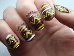 nail art for short nails 7 tribal nails