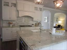 kitchen room magnificent carrara mosaic backsplash marble