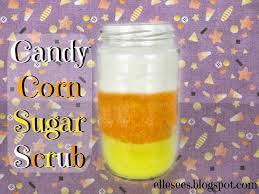 halloween scrub elle sees beauty blogger in atlanta diy candy corn sugar scrub