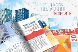 indesign brochure template v2 brochure templates creative market