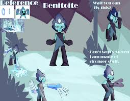 benitoite drawing steven universe restored gem 4 benitoite by blazeingman on deviantart