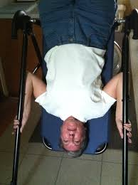 inversion table for neck pain the up side of down inversion table neck pain and exercises