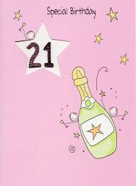 happy 21st birthday greeting card cards love kates