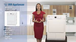Gas Clothes Dryers Reviews Miele Tda140c Tumble Dryer Review Youtube