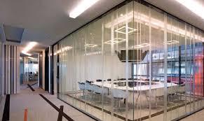 cloison vitr bureau cloisons de bureaux avec vitre transparente