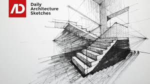 how to draw stairs in two point perspective daily architecture