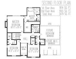 3 bedroom house plan 2 story country brick house floor plans 3 bedroom home designs