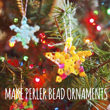 perler bead christmas tree ornaments u2014 this fine day