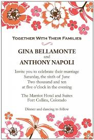 Wedding Invitations Sayings Best 25 Wedding Invitation Wording Ideas On Pinterest How To