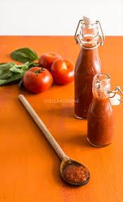 cuisiner des tomates s h s recette de purée de tomates façon passata stella cuisine