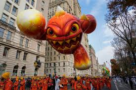 balloons floats and at macy s thanksgiving parade photos