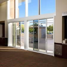 Sliding Glass Pocket Patio Doors by Commercial Sliding Door Systems Aluminum Exterior 990 Sliding