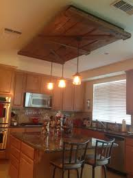 old barn door kitchen light fixture never would have thought of
