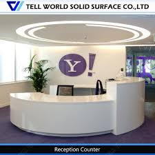 Round Reception Desk by Top Sale Modern And Simple Design High Quality Half Round Office