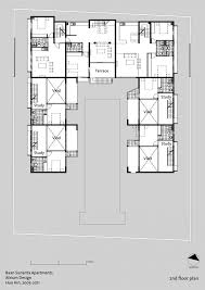apartment plan layout of residential building