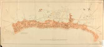 map of st map of st s nfld showing extent of of 1846