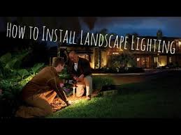 Installing Low Voltage Landscape Lighting How To Install Low Voltage Landscape Lighting Complete Step By
