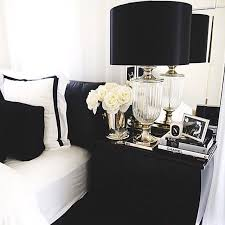 bedrooms modern black and white bedroom with modern bed also