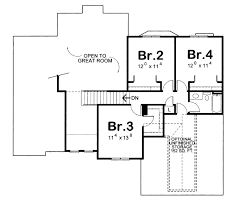 Houseplans Com by Traditional Style House Plan 4 Beds 2 50 Baths 2196 Sq Ft Plan