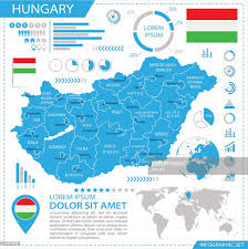 Hungary World Map Hungary Infographic Map Illustration Vector Art Getty Images