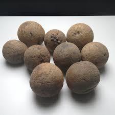 wooden balls lot of 9 wooden balls ca 1800 catawiki