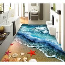 bathroom design painting custom flooring room ocean isleand