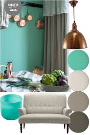 Copper Kitchen Decor by Palette Of The Week Copper Teal And Grey 2014 March Life Style