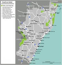Blank Map Of South African Provinces by South Africa Kwazulu Natal Map U2022 Mapsof Net