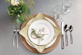 place settings place setting inspiration how to decorate