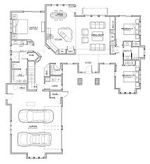 Contemporary Open Floor Plans Home Plan Rugged Craftsman Retreat Startribune Com