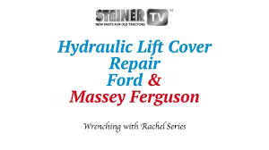 hydraulic lift cover repair youtube