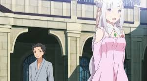 subaru and emilia re zero kara hajimeru isekai seikatsu episode 5 discussion