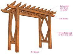 wedding arches plans diy grape arbor free building plan grape arbor building plans