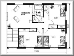 Tiny House Floor Plan by Tiny House Floor Plans 10x12 On Bedroom Size L Inside Design