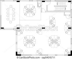 disposition bureau commerical disposition bureau floorplan business clipart