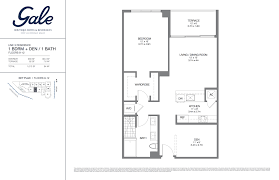 the gale floor plan gale boutique hotel residences condominium for sale fort