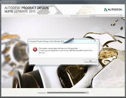autodesk product design suite error the system cannot open the device or file specified