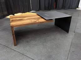 Steel Coffee Table Home Furnishings Grain Designs