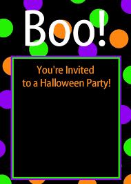 halloween party invitations printable