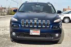 jeep cherokee blue new cherokee for sale in skokie il sherman dodge chrysler jeep ram