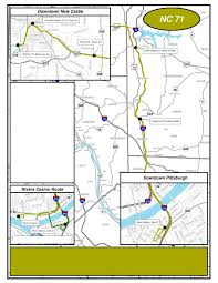 Pittsburgh Pennsylvania Map by Pittsburgh Schedule New Castle Area Transit Authority