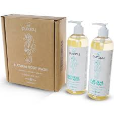 amazon com puracy natural body wash sulfate free bath and shower amazon com puracy natural body wash sulfate free bath and shower gel citrus and sea salt 16 ounce pump bottle pack of 2 health personal care
