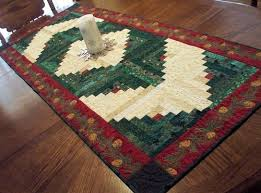 make christmas table runner the easiest way to make quilted table runners at home modern home