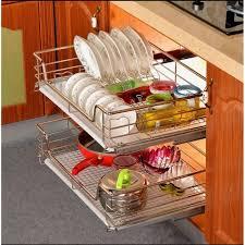 cuisine tiroir tiroir de rangement cuisine télescopique en métal panie achat